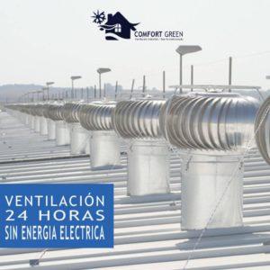 Extractor Eólico Venta é Instalacion Perú