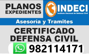 Indeci Levantamiento de Observaciones Expediente Municipal en Surco, La Molina, San Borja