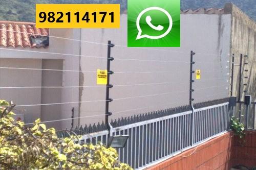 【CERCO ELÉCTRICO】🥉 Instalación, Mantenimiento en Miraflores, San Isidro