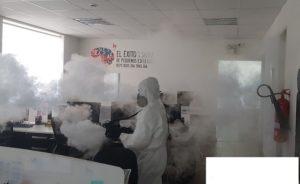 Termonebulizadora Fumigación Desinfección CORONAVIRUS, COVID-19 en Lima, Callao, surco, san borja, la molina, miraflores, san isidro