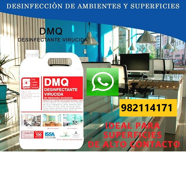 DMQ 🥉AMONIO CUATERNARIO🥉 Desinfectante en Comas