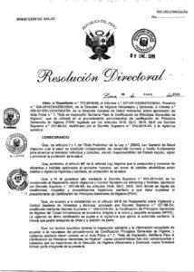 AMONIO CUATERNARIO DESINFECTANTE LIMA